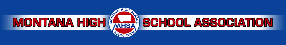 Montana high school association header