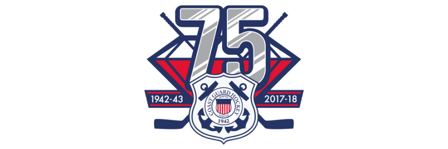 Cg hockey 75th anniversary banner