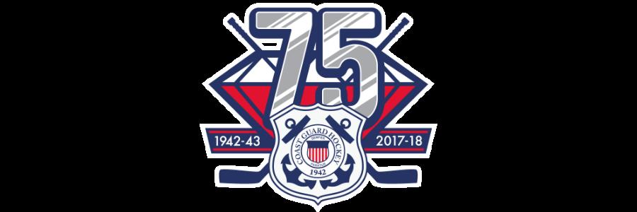 Cg hockey 75th anniversary banner