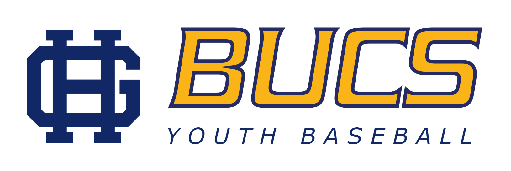 2020 bucs youth baseball logo header