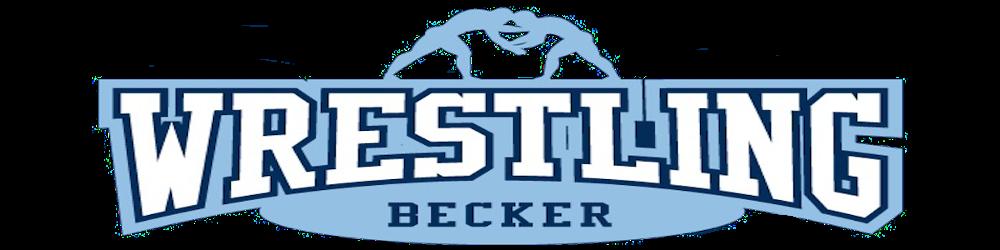 Becker wrestling banner 3