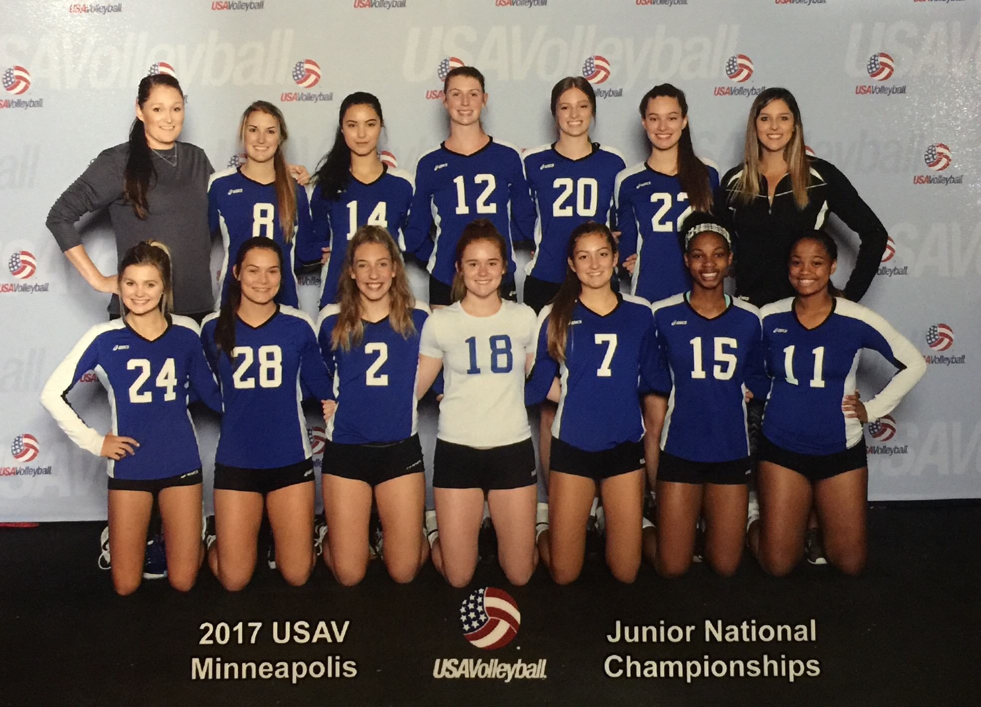 asics jr national volleyball championships 2017