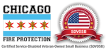 Chicago fire protection logo