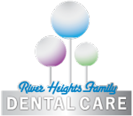 River heights family dental care logo