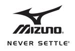 Mizuno never settle