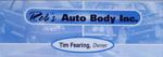 Rob s auto body logo