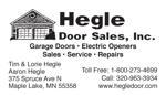 Hegle doors   b. card size ad