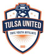 Tulsa united white crest
