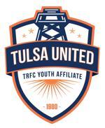 Tulsa united white crest