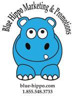 Blue hippo2015wheel cover vector