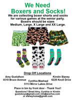 Socks boxers poster