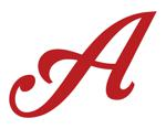 Aces elite logo letter a  red