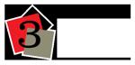 3 squares logo