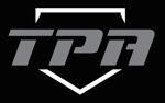 Tpa logo grey font black bg