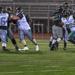 Jaron Jones taking a hand off for a 60 yard touchdown run vs the Raiders 4/28/18