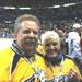 Herb & Barbara Fritch after enjoing a Predator's win at home