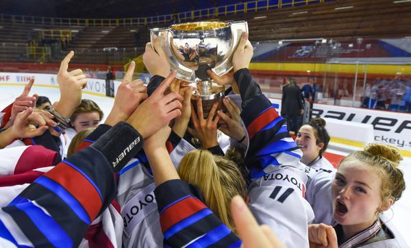 U.S. Under-18 Women's National Team GOLDEN in Bratislava