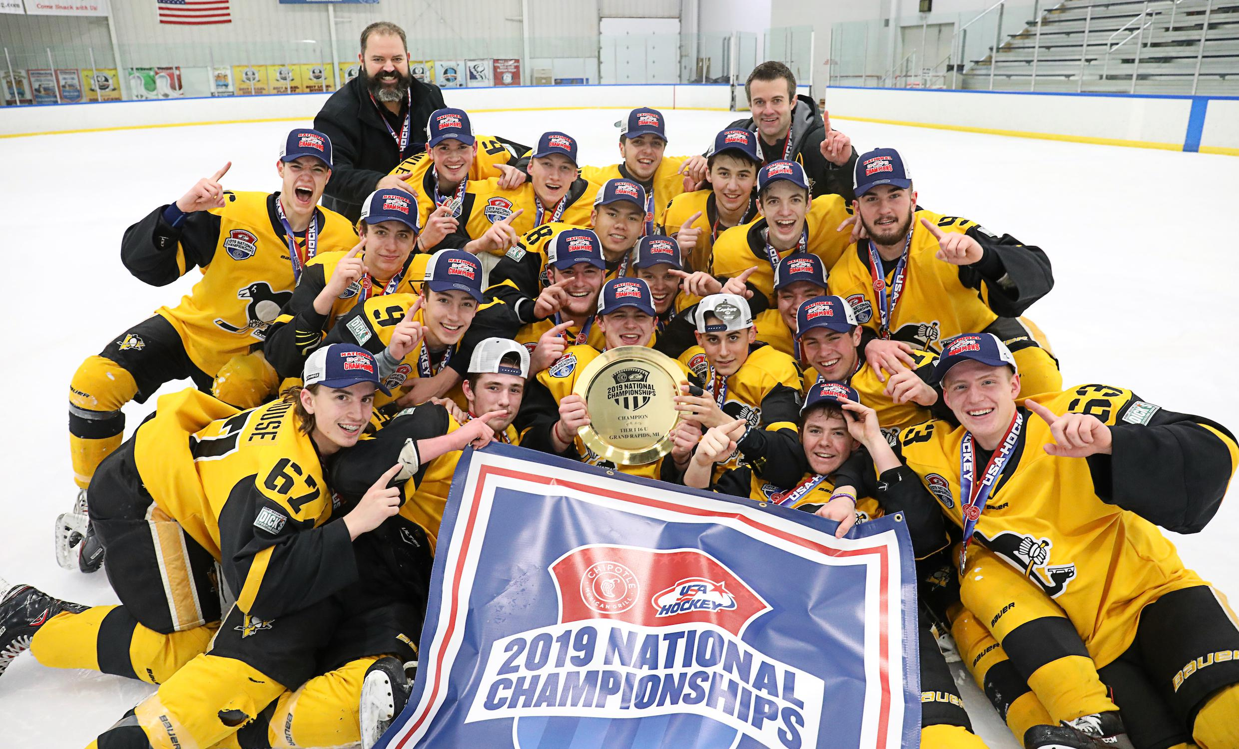 Pittsburgh Pens Elite Top Yale Jr Bulldogs To Claim Youth Tier I