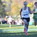 Maine South's Jack Carpenter nears the finish