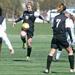 Regina's Maggie Palmer settles the ball