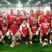 "The Annual Hingham vs Weymouth Alumni Lacrosse game was held on ""Thanksgiving Eve"" Wed Night Nov 26th at the Hanover U indoor field complex."