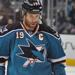 Joe Thornton of the Sane Jose Sharks in the National Hockey League (NHL)