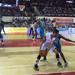 Justin Bocot looks to make a move out of the corner against the Cuban National Team Tuesday in Yangzhong.