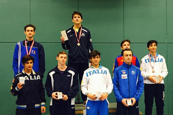 Nicolas Wilson Wins Cadet Gold Usa 1 Takes Mixed Bronze