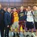 Michigan wrestlers who competed at the Journeymen Freestyle Classic along with coach Al Freeman.