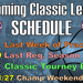 Check out the remaining schedule for the 2018-19 Classic League Season!