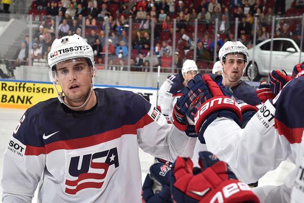U.S. Blanks France, 4-0, in Men's Worlds Prelim