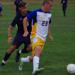 RCGC's Ethan Eppler, a freshman from Audubon, moves the ball upfield in a recent game.