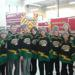 PeeWee Boys Dontate to Toys for Tots