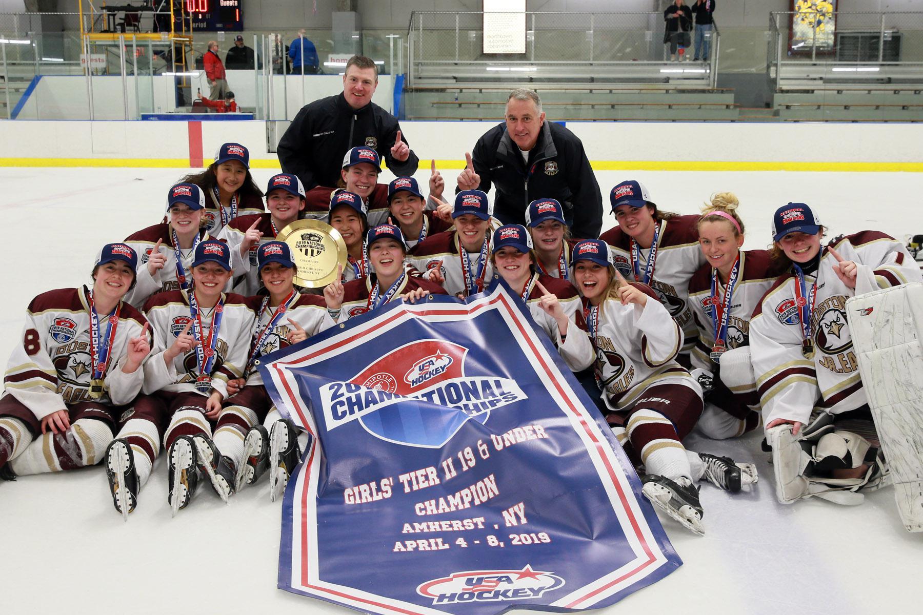 Boston Jr Eagles Win Battle Of At Large Teams In Girls Tier Ii 19u
