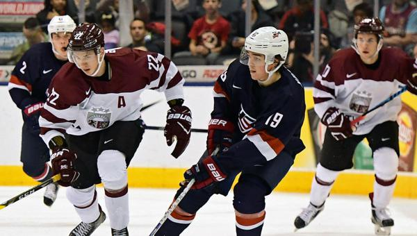 WJC: 2017 Tournament About USA Win Over Latvia; White, Keller, Greenway Among Standouts