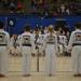Martial arts kids and adults at at tournament