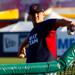 Trevor Hoffman pitching at the World Baseball Classic Qualifier
