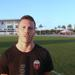 Carl Haworth on the pitch in Florida