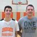 Anthony DiCaro with coach Eric Cassidy