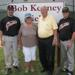 L to R - Ed Kenney with mother, Emma, father, Bob, and brother Robbie.