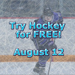Try Hockey Free Graphic