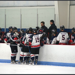 The U16 Pics celebrate a goal against the Hartford Jr. Wolf Pack
