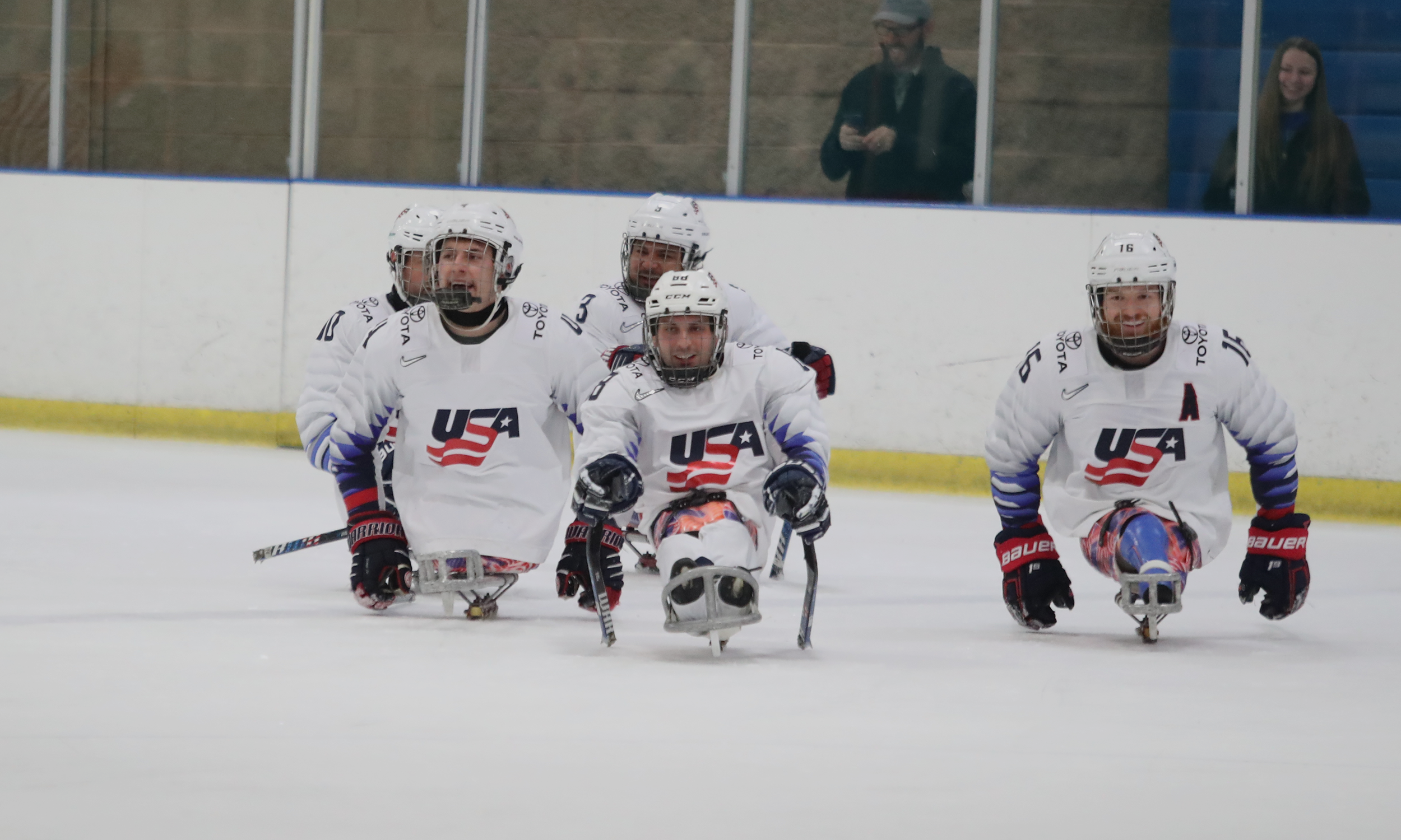 3f8460b8cb1 U.S. Looks On To Worlds With Sled Series In Rearview Mirror