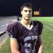 Holy Cross senior two-way lineman Nick Werkheiser, a 6-foot-3, 215-pounder after recording a sack.