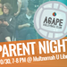 Agape Parent Night