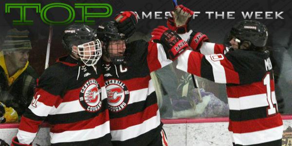 MN H.S.: Top Games - Centennial, Duluth East Collide Tonight In Class 2A Duel Of Unbeaten Teams