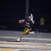 Photo of Sophomore Brodie Bradburn scoring touchdown