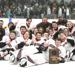The Somerset hockey team is shown posing with the sectional championship plaque after defeating Menomonie 3-2 in the sectional championship game in Somerset on Saturday, Feb. 29. Dave Newman / RiverTown Multimedia