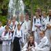 A group of martial arts kids having fun