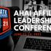 2021 AHAI Affiliate Leadership Conference Set for June 22-24, 2021